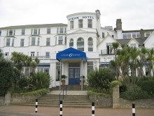Sandown, Ocean Hotel, Isle of Wight © Alan Swain